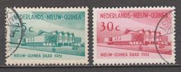 Nederlands Nieuw Guinea Dutch New Guinea 67 - 68 Used ; Nieuw Guinea Raad 1961 - Nouvelle Guinée Néerlandaise