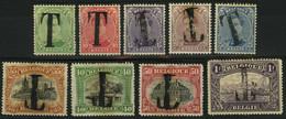 TX 17/25 * - Postzegels Van 1915 Met Opdruk Van De Letter T - Postzegels