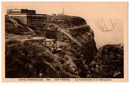 CPA 22 - CAP FREHEL (Côtes D'Armor) - 895. La Fauconnière Et Le Sémaphore - Cap Frehel