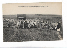 Marbotte Souvenir Des Exhumations Mai Juin 1921 Ancien Camion - Other Municipalities
