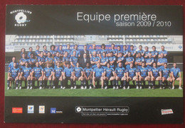 Rugby : Montpellier Herault Rugby Club  , Saison 2009-2010 - Rugby