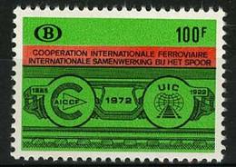 België TR423 ** - 50 Jaar Internationale Spoorwegunie - 50e Anniv. De La Coopération Internationale Ferroviaire - 1952-....
