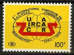 België TR425 ** - 4de Symposium Van Spoorweg-cybernetica - Sympos. Internat. De Cybernétique Ferrov. à Washington - 1952-....