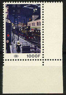 België TR432 ** - Een Station 's Nachts - Schilderij Van Paul Delvaux - Gare La Nuit - Locomotive à Vapeur - Tableau - 1952-....
