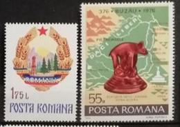 Roumanie 1976 / Yvert N°2962 + 2976 / * Et ** - Unused Stamps