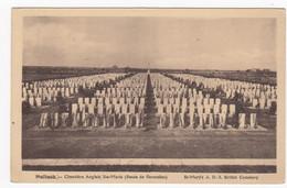 France Carte Postale Hulluch Cimetiere Anglais Ste Marie Route De Vdermelles British Cemetery Not Used Ca. 1930 - Otros Municipios