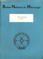 C.O.M.E.T. : Classification Sur Ordinateur Des Documents Métrologiques - Guide D'indexation - Bureau National De Métrolo - Informatique