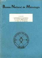 C.O.M.E.T. : Classification Sur Ordinateur Des Documents Métrologiques - Le Codage Des Informations - Bureau National De - Informatique