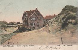 De Panne ,  La Panne , Villas Léopold Et Florian   ,(  Kleur ) - De Panne
