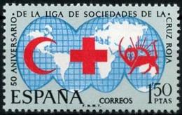 ESPAGNE - Ligue Des Sociétés Croix Rouge - 1961-70 Ungebraucht