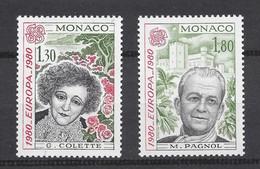 ⭐ Monaco - YT N° 1224 Et 1225 - Neuf Sans Charnière - 1980 ⭐ - Unused Stamps