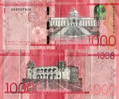 Dominican Rep / 1.000 Pesos / 2016 / P-193(a) / VF - Dominicaine