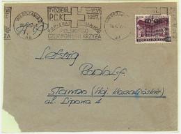 Poland Envelope 1957 [KO57 201] Tydzień PCK - Covers & Documents