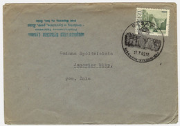 Poland Envelope 1959 [KO59 019] Gąsawa - Biskupin-wykopaliska - Storia Postale