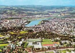 Autriche Linz Donau Stadion Mit Sporthalle (Carte Vierge) - Linz