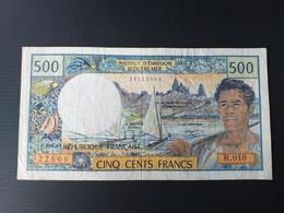 FRANCE PACIFIQUE 500 FRANCS 2000 - Other