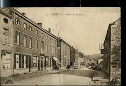 CP ( Jemelle : Route De Rochefort) Pli Central - Obl. 23/12/1921 - Poste Rurale