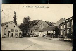 CP ( Jemelle : Place Sainte - Marguerite ) - Obl. BRUSSEL ( BRUXELLES ) - ARLON  2 Le 19/11/1925 - Ambulants