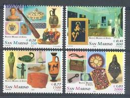 San Marino 2001 Mi 1970-1973 MNH  (ZE2 SMR1970-1973) - Other