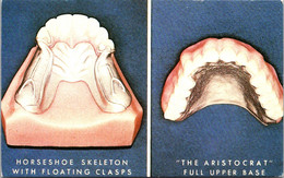 Advertising Stress Relief The Floating Clasp & The Aristocrat Upper Nobilium Base For Tongue Freedom - Pubblicitari
