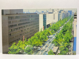 Midosuji Street, Osaka, Japan Postcard - Osaka