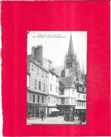 VANNES - 56 -  CPA DOS SIMPLE - La Rue De L'Hôtel De Ville - - ARD/BARAT - - Vannes