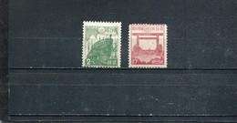 Japon 1942-46 Yt 325A 333 * - Unused Stamps