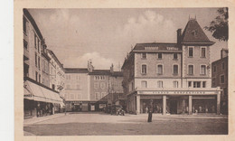 FRANCE  ST MARCELLIN  CIRCULEE  1942  PLACE D'ARMES - Saint-Marcellin