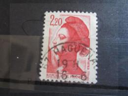 """VEND BEAU TIMBRE DE FRANCE N° 2376 , OBLITERATION """" HAGUENAU """" !!! - 1982-90 Libertà Di Gandon"""