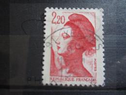 "VEND BEAU TIMBRE DE FRANCE N° 2376 , OBLITERATION "" YERRES "" !!! - 1982-90 Libertà Di Gandon"