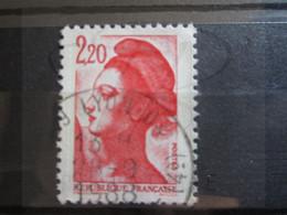 "VEND BEAU TIMBRE DE FRANCE N° 2376 , OBLITERATION "" LYON "" !!! - 1982-90 Libertà Di Gandon"