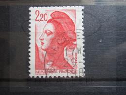 "VEND BEAU TIMBRE DE FRANCE N° 2376 , OBLITERATION "" ARGELES "" !!! - 1982-90 Libertà Di Gandon"