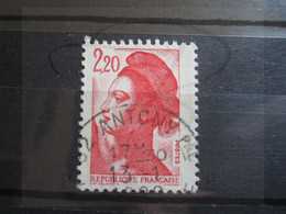"""VEND BEAU TIMBRE DE FRANCE N° 2376 , OBLITERATION """" ANTONY """" !!! - 1982-90 Libertà Di Gandon"""