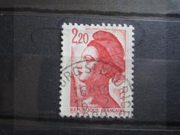 "VEND BEAU TIMBRE DE FRANCE N° 2376 , OBLITERATION "" BOURG ST-MAURICE "" !!! - 1982-90 Libertà Di Gandon"