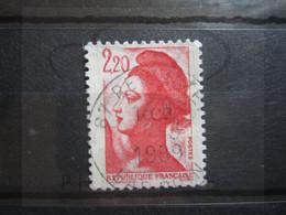 """VEND BEAU TIMBRE DE FRANCE N° 2376 , OBLITERATION """" REICHSTATT """" !!! - 1982-90 Libertà Di Gandon"""