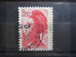 "VEND BEAU TIMBRE DE FRANCE N° 2376 , OBLITERATION "" ARRAS-GARE "" !!! - 1982-90 Libertà Di Gandon"