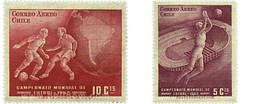 Ref. 652150 * HINGED * - CHILE. 1962. FOOTBALL WORLD CUP. CHILE-62 . COPA DEL MUNDO DE FUTBOL. CHILE-62 - Chili