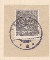 Wappen 2½  Pfg. Auf Briefstück Mit Stempel BROACKER *** 6.5.20 - Coordination Sectors