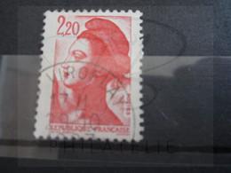 "VEND BEAU TIMBRE DE FRANCE N° 2376 , OBLITERATION "" VIROFLAY "" !!! (b) - 1982-90 Libertà Di Gandon"