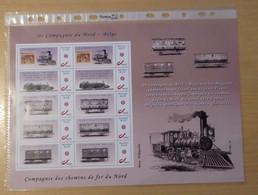Treinen De Compagnie Du Nord -- België - Persoonlijke Postzegels