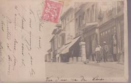 CPA Caraman ( 31 ) - Vue D'une Rue De Caraman - Circulée 1903 - Sonstige Gemeinden