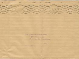 O MEC RBV CAEN RP PP SUR GRANDE ENVELOPPE PLIEE - Mechanical Postmarks (Advertisement)