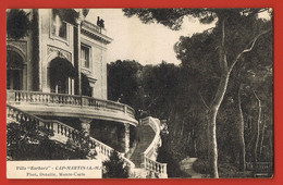 CAP-MARTIN -06-  Villa BARBARA  -  Escalier Extérieur - Façade-  Photo Detaillé -Monte-Carlo - Roquebrune-Cap-Martin