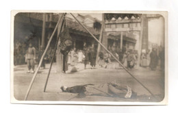 Rare Photo D Homme  Decapite En Indochine - Zonder Classificatie