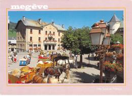 74 - Megève - Place De L'église, Point De Départ En Promenade - Megève