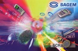UNITED STATES - DEMO CARD - SAGEM SCRATCH CARD - Other