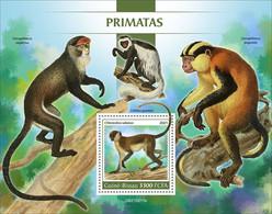 2021/07- GUINEA BISSAU -  PRIMATES                1V   MNH ** - Chimpanzees