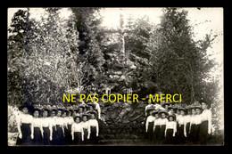 54 - BACCARAT - GROUPE DE JEUNES FILLES - PHOTOGRAPHIE RENARD - CARTE PHOTO ORIGINALE - Baccarat