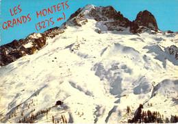 74 - Les Grands Montets - Les Pistes De Ski - Au Fond, L'Aiguille Verte Et L'Aiguille Du Dru - Sonstige Gemeinden
