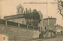 69* CUSSET  Eglise    MA80-0496 - Non Classés